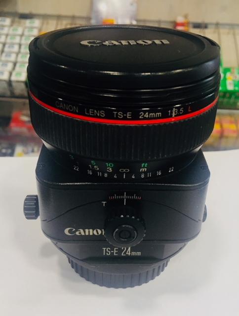 OBJETIVO CANON TS-E24MM F/3. 5LTILT-SHIFT